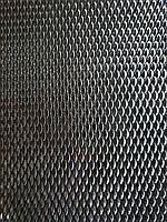 Сетка просечно-вытяжная из оцинкованного металла, Ячейка 2,0х8,0мм, толщина 0,55мм,  Ширина 500м длинна 1500мм