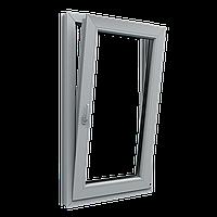 Металлопластиковое окно. Поворотно-откидное, 600х1000, профиль S300, стеклопакет с энергосберегающим стеклом.