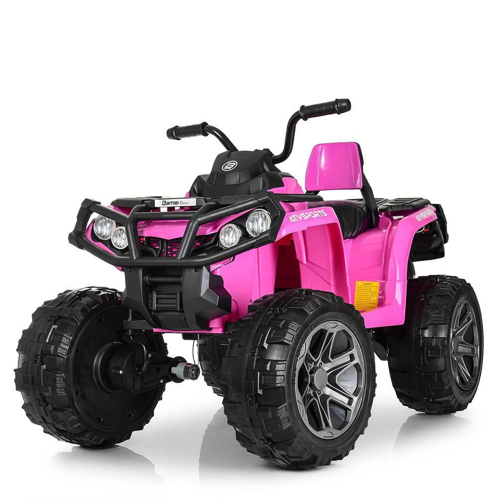 Квадроцикл M 3999EBLR-8 Розовый BAMBI