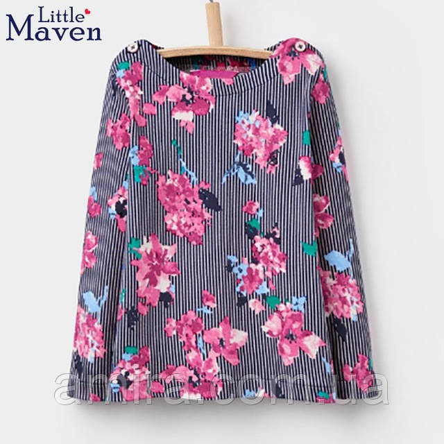 Кофта для девочки Цветы Little Maven
