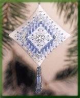 "Набор для вышивания ""Icy Snowflake//Ледяная снежинка"" Mill Hill MHTD24"