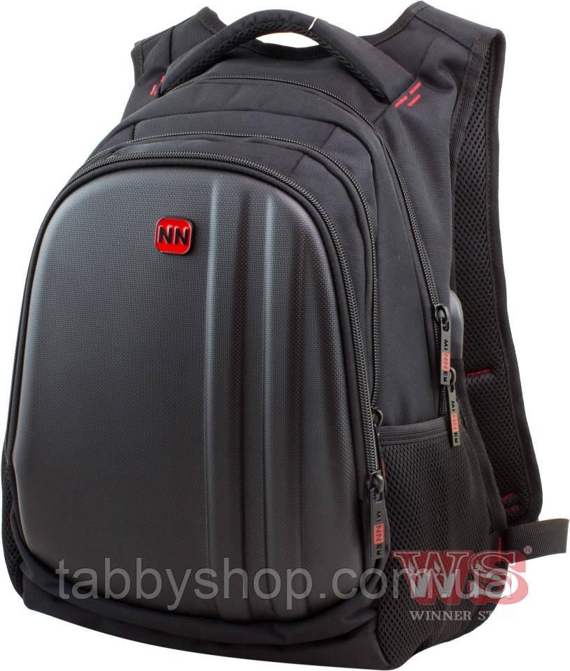 Рюкзак школьный подростковый Winner Stile 410 красный декор