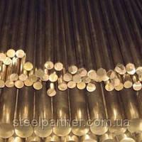 Круг бронзовый ОЦС, БрАЖ 125 мм