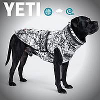 Одежда для собак, теплый, водонепроницаемый жилет YETI, из мембраны, для больших и средних пород