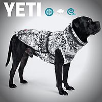 Зимняя одежда для собак, теплый, водонепроницаемый жилет YETI, из мембраны, для больших и средних пород