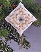 """Набор для вышивания """"Crystal Snowflake//Хрустальная снежинка"""" Mill Hill MHTD6"""