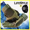 Тактические перчатки Oakley + Часы Swiss Army в Подарок