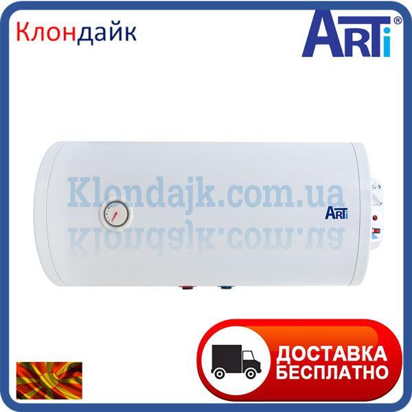 Бойлер с мокрым тенам Arti 80 литров горизонтальный монтаж (Македония) WHH 80L/1