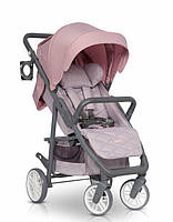 Прогулочная коляска Euro-Cart Flex   Powder-pink, фото 1