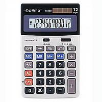 Калькулятор настільний Optima, 12 розрядів, розмір 174*108*27 мм О75502
