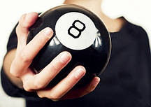 Куля провісник великий, куля відповідей, магічний куля прийняття рішень,