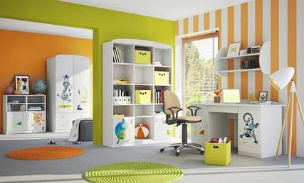 Дитячі кімнати для двох дітей