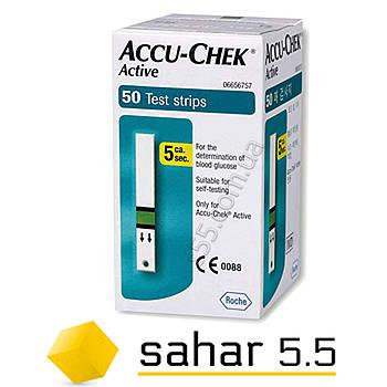 Тест полоски Акку Чек Актив 50шт. - Accu Chek Active