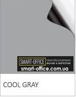 Полімерне залізо з сірим грифельно/маркерним покриттям на клейовій основі шириною 1,2 м.