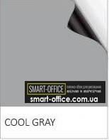 Полімерне залізо з сірим грифельно/маркерним покриттям на клейовій основі шириною 1,2 м., фото 1