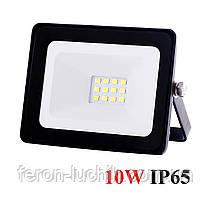 Прожектор светодиодный 10W IP65 6400K ZLight 4101 LED черный