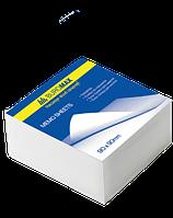 Блок белой бумаги для заметок Buromax Jobmax 90 х 90 х 30 мм не склеенный