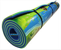 Детский коврик 2000×1200×10мм, «Мадагаскар», теплоизоляционный, развивающий, игровой коврик.