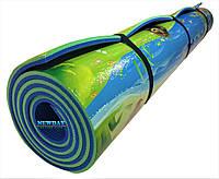 Детский теплоизоляционный развивающий игровой коврик «Мадагаскар» 2000×1200×10мм, ХС ППЭ