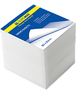 Блок белой бумаги для заметок Buromax Jobmax 90 х 90 х 90 мм не склеенный