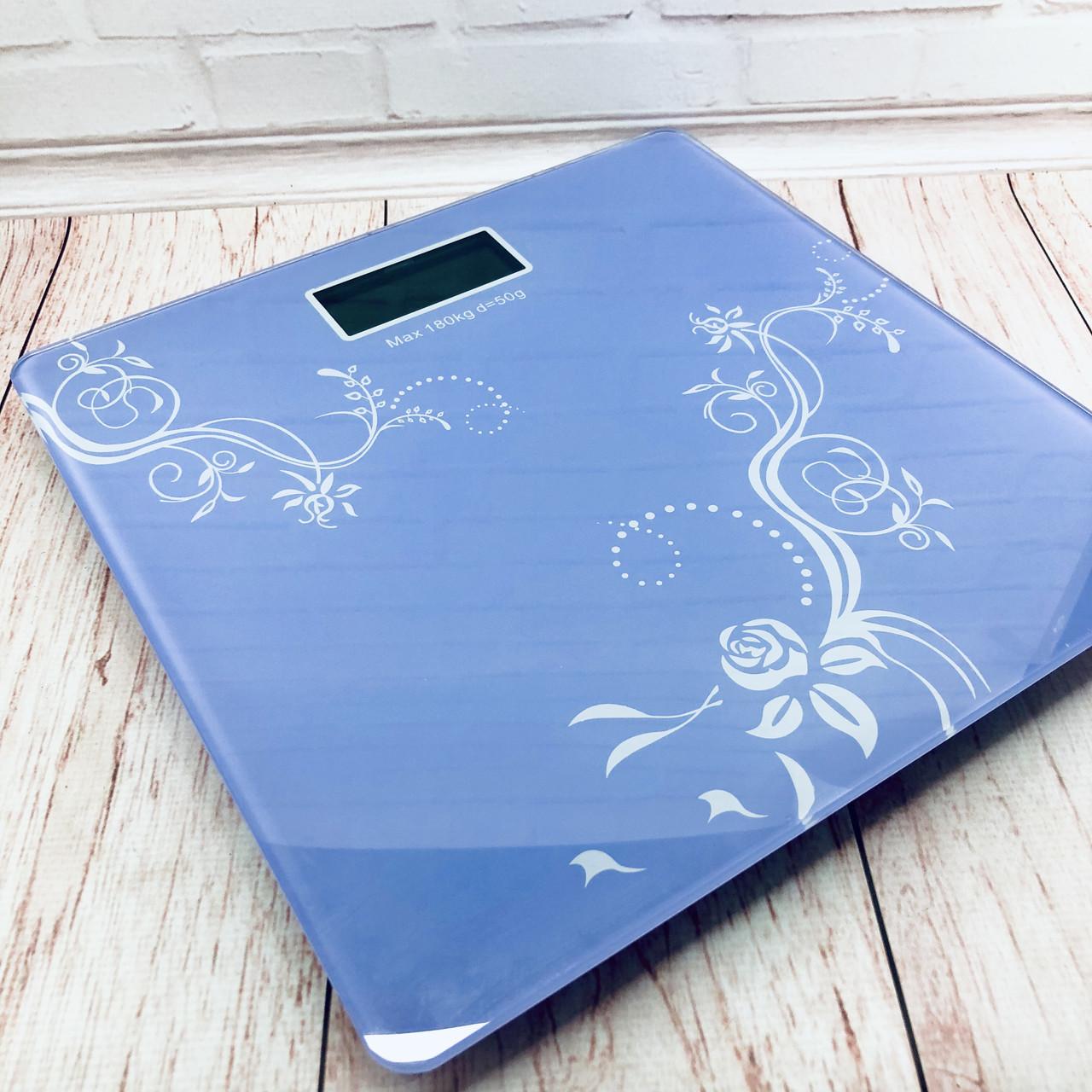 Весы напольные Domotec MS-1604 Фиолетовые