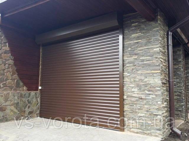 Роллеты в гараж - алюминиевые роллетные ворота