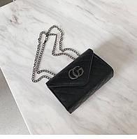 Женская сумка клатч черная, фото 1