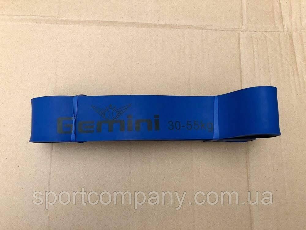 Петля резиновая синяя, ширина - 4.5 см, нагрузка 30-55 кг