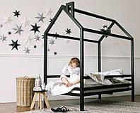 Кровать детская деревянная Домик Стандарт