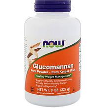 """Глюкоманнан NOW Foods """"Glucomannan Pure Powder"""" для контроля веса, чистый порошок (227 г)"""