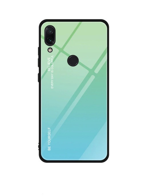 Чохол Gradient для Huawei P Smart 2019 Green-Blue