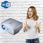 Проектор мультимедийный Full HD Wi-Fi стерео звук Vivibright Wi-light F40 домашний кинотеатр кинопроектор, фото 2
