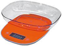 Весы кухонные электронные Camry CR 3150 Orange с чашей