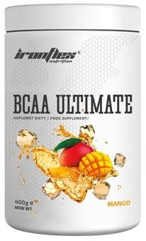 Аминокислоты IronFlex - BCAA Ultimate (400 грамм) mango/манго