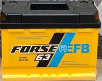 Аккумулятор Forse EFB 6СТ- 63 Ач 620A