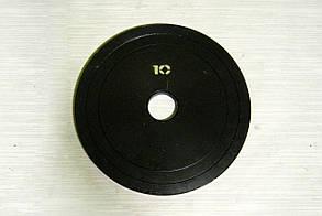 Блин стальной 10 кг (26/31/52 мм)