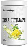 Аминокислоты IronFlex - BCAA Ultimate (400 грамм) lemon-lime/лимон-лайм