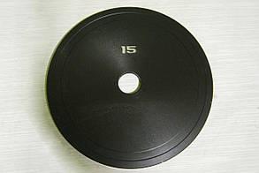 Блин стальной 15 кг (26/31/52 мм)