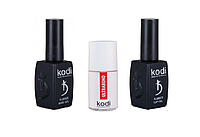 Набор Kodi Base 12 мл + Top 12 мл + Ultrabond