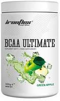 Аминокислоты IronFlex - BCAA Ultimate (400 грамм) green apple/зеленое яблоко