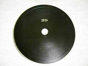 Блин стальной 25 кг (26/31/52 мм)