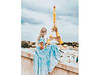 Картина по номерам Романтический париж