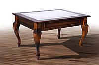 Журнальный столик Вега со стеклом (дерево) Микс мебель