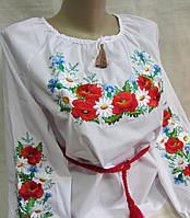 Вышитая блуза для девочки подростковая