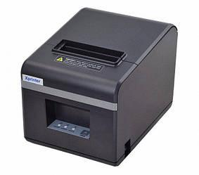 Термопринтер для чеков Xprinter N160ii USB 80мм 5656, черный