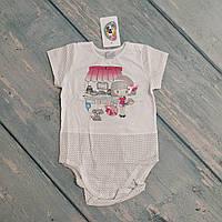 Боди футболка для девочки, р. 86 ТМ Garden Baby
