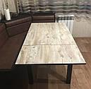 Стол обеденный Марсель 90(+35+35)*70 венге - Клондайк, фото 2