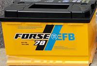 Аккумулятор  Forse EFB 6СТ- 78 Ач 750A