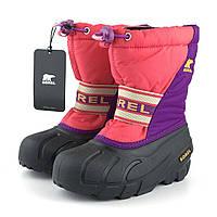 Теплые зимние сапожки Sorel (Канада) р 29. Интернет-магазин брендовой обуви