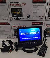 Телевизор автомобильный 7.5 дюймов + аккумулятор NS701D
